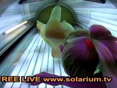 Blond Teen in Live Voyeur Public www.solarium.tv SOLARIUMCAM FOR FREE Thumb