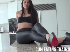 Femdom Cum Eating And CEI Domination Videos Thumb