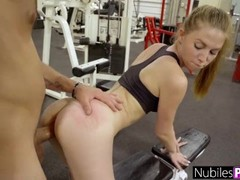 Cute Nympho Begs For Cock At The Gym! - Gym Selfie S16:E10 Thumb
