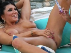 Romi and Cherie Fuck Outside Thumb