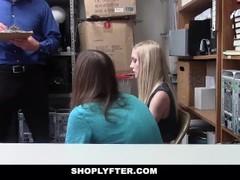 ShopLyfter - Security Guard Fucks Teen In Front Of Boyfriend Thumb