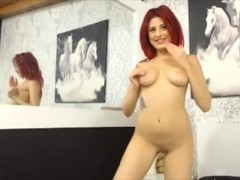 Young redhead Lacey with sexy heels.mp4 Thumb