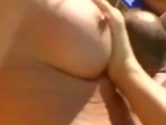 Group sex at the pool Thumb