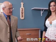 BRAZZERS - Slutty School girl Mandy Haze gets some dorm cock in uniform Thumb