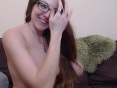 Dirty talking minx Roselynn with great body gagging toy Thumb