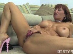 Female Muscle Porn Star Devon Michaels Gets Dirty With A Dildo Thumb