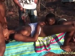 african groupsex safari orgy Thumb