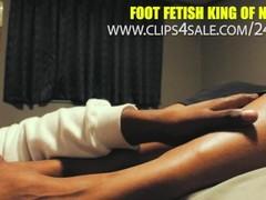 Ebony bbw foot worship Thumb