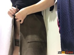 Masturbation in the Public Changing Room - Real Orgasm Thumb