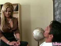 Twistys - Hot blonde Shyla Stylez wants the principals cock Thumb