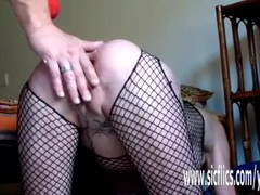 XXL anal dildo and fisting penetrations amateur Thumb
