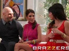 Brazzers  - Aleksa Nicole & Brooklyn Lee & Johnny Sins & Keiran Lee - Key Party Thumb