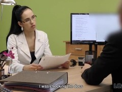 LOAN4K. Teen office worker gets new experience having sex for cash Thumb