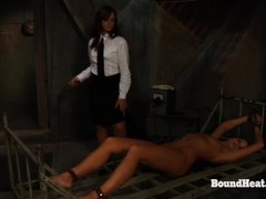 No Escape 2: Lesbian Maid Enjoys In Slave Training Thumb