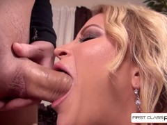 Hottest Daisy Monroe sucking a monster cock, big booty & big boobs. Full sex movie - FirstClassPOV Thumb