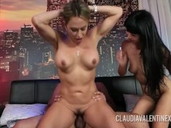 Claudia Valentine joins a couple for a threesome Thumb