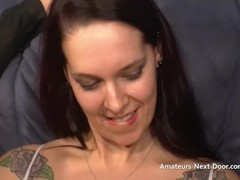 Excited brunettes first threesome Thumb