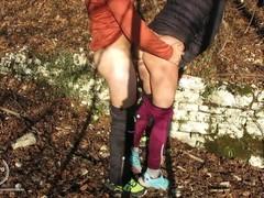 Alla mia ragazza viene voglia di cazzo mentre siamo nel bosco - AURORARED Thumb