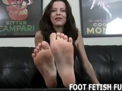 Foot Fetish Fantasy And POV Femdom Porn Thumb