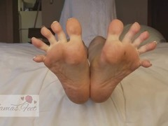 Spreading My Toes & Ripping My Nylons (Close View) Thumb