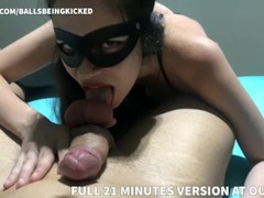 BLOWJOB HANDJOB BY HOT MISTRESS WITH LIGHT CBT POV Thumb