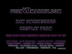 Kill Bill XXX Cosplay in wild packed threesome fucking VR Thumb