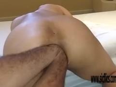 Double anal fisting Brazilian amateur MILF Maria Thumb