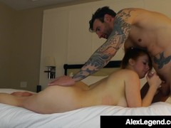 Fat Cock Alex Legend Bangs Beauty Penny Pax In Hotel! Thumb