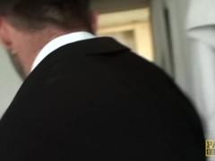PASCALSSUBSLUTS - Teen Alessa Savage throated and slammed Thumb
