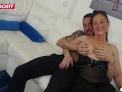 LETSDOEIT - Italian Milf Gets Pounded Hardcore at Porn Filming! Thumb