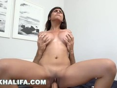 MIA KHALIFA - Arab Babe Passionately Fucked By Big Dick Stud, Sean Lawless Thumb