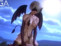 3D succubus riding dick like the night stalker Thumb