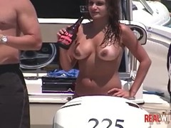Raunchy Boat Party Sluts out of control 3 Thumb