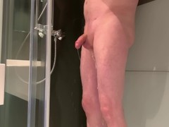 shaving penis shower spy 4K Thumb