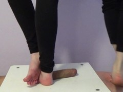 under the feet of two girls - CBT trample Thumb
