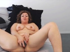 Sweet housewife with meaty pierced clit Thumb