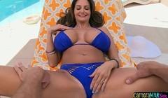 Busty amateur bikini babe anally ravaged Thumb