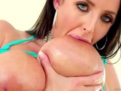 Angela's Big Titty Fuck/Deep Throat BJ Thumb