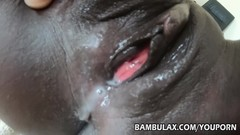 Young black amateur creampie Thumb