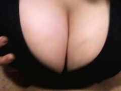 Quickie Titfuck with lots of cum between my Big Boobs! Thumb