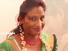 Hot desi shortfilm 65 - Boobs pressed & squeezed hard in blouse, navel pres Thumb
