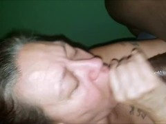 Granny Sucking BBC Then Gets Her Pussy Destroyed Thumb