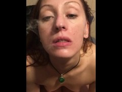 Pot smoking lesbians Panties Thumb