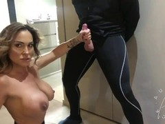 Ballbusting mixed wrestling Thumb
