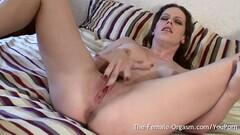 Horny Brit Finger Masturbates her Juicy Vulva to a Pussy Throbbing Orgasm Thumb