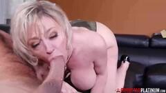 PORNSTARPLATINUM Big Titty MILF Dee Williams Blows Huge Cock Thumb