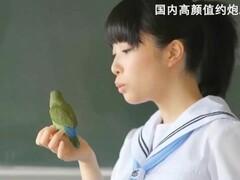 国产极品巨乳学生妹被老师留在教室里狂插猛操台湾SWAG CHINA Thumb
