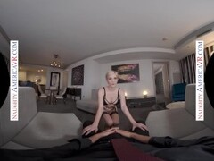 Naughty America - Skye Blue wont let you leave until you fuck her Thumb
