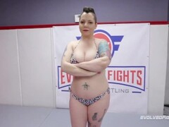 Will Tile Has His Way with Nikki Sequoia Who Takes His BBC in Mixed Nude Wrestling Thumb