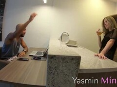 Y4$M1N M1N31R4 - Brazilian Blonde Anal-sex Thumb